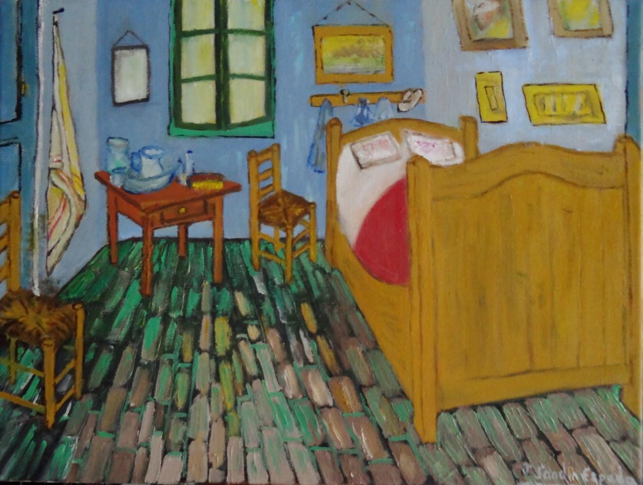 La habitación de Van Gogh | J. Sandin Espada