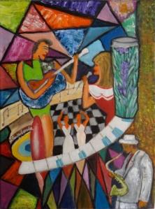Oleo sobre lienzo de 30x40 cm Autor: Juan Sandin Espada