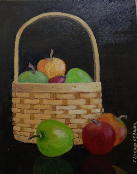 Oleo sobre lienzo de 24x30 cm Disponible