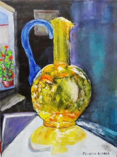 Oleo sobre lienzo de 30x40 cm Disponible