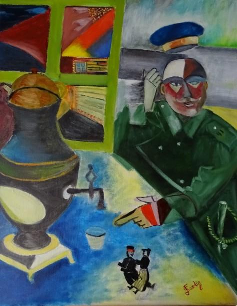El soldado de Chagall