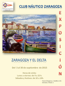 Zaragoza y el Delta